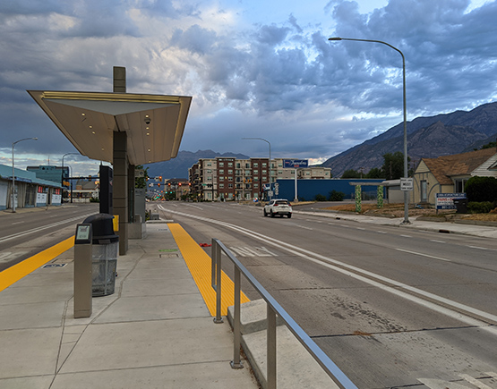 WCG Projects: Ogden Bus Rapid Transit Line