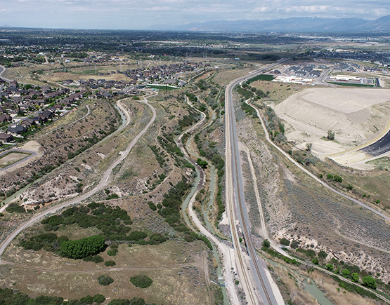 WCG Projects: Porter Rockwell Boulevard Segment Four